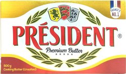Flavor: Unsalted President Butter - 500 gram IP packing, Packaging Type: Carton, Quantity Per Pack: 5 Kg