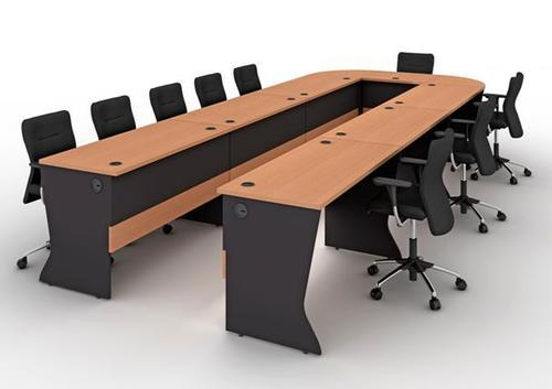 U Shape Modular Conference Table Conference Hall Table ABS - U shaped conference table designs