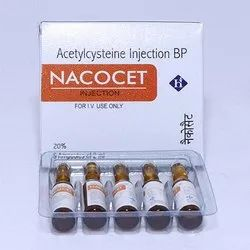 Acetylcysteine 200mg/ml For Injection