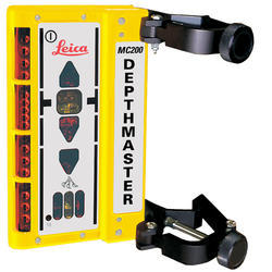 Depthmaster Excavator Receiver with Clamp on Brackets