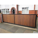 Commercial Cantilever Sliding Gate