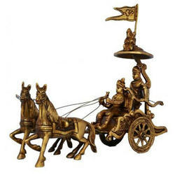 Brass Decorative Statue, For Decoration