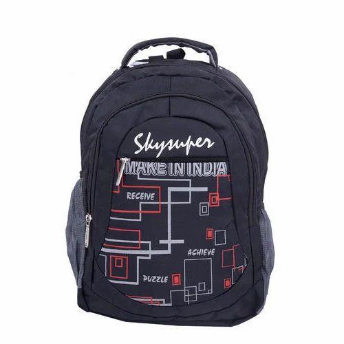 Sky Super Boys Printed School Bag, Rs 350  piece, Sky Super   ID ... a83b604a1b