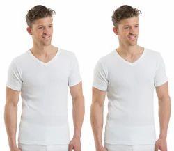 Male Cotton/Linen Mens RNS Vest