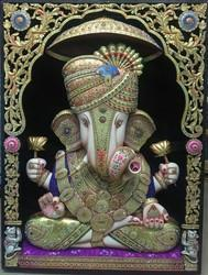 Ganesha Gold Painting