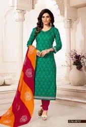 Cotton Casual Priyakala Fancy Colorful Printed Suit