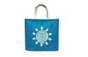 Blue Jute Carry Bags