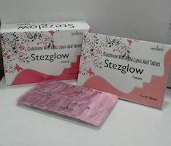 L-Glutathione Vit.c Alpha Lipoic Acid Grapeseed Tablets, Grade: Medicine Grade, Packaging Type: Alu-Alu