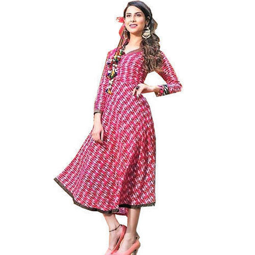 21f582f53f3 Small And Large Party Wear Fancy Frock Style Kurti
