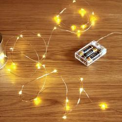 new product 8c29e 85a4a Battery Powered (10 m 100 Led) Copper Wire LED Light String