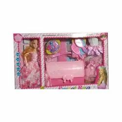 Pink Kids Plastic Toy Set