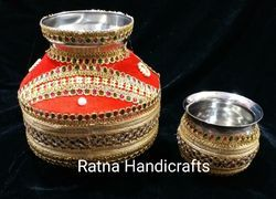 Decorated Kalash Lota