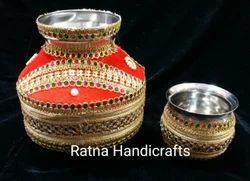 Decorated Kalash Lota