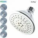 Eco365 Grey 5 Flow In 1 Air Oxy Water Saving Shower Head