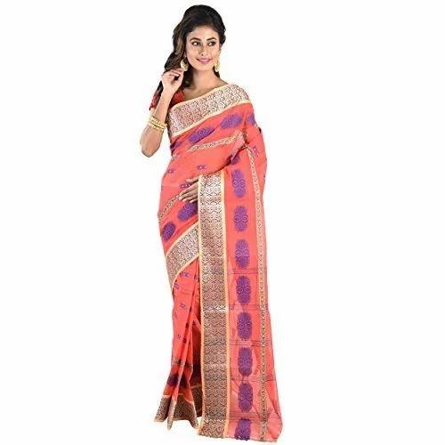 0d87b240a9 Printed Cotton Tant Saree, Length: 6.3 M, Rs 750 /piece, Chhaya ...