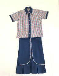 Girls School Uniform - Shirt & Divider