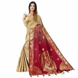 J17 Trendy Khadi Silk Saree