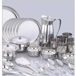 Stainless Steel Dinner Set SS Dinner Set ???????? ????? ???? ??? - Jai Jai Ramkrishna Hari Chennai | ID 14936142373  sc 1 st  IndiaMART & Stainless Steel Dinner Set SS Dinner Set ???????? ...