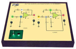 Butter Worth Low Pass Filter ( I, II, III Order ) Trainer