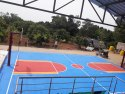 Synthetic Basketball Court Flooring Service