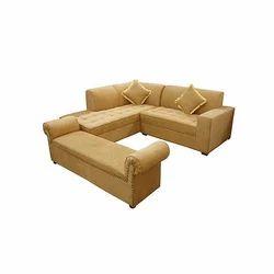 L Shaped Sofa - Designer L Shape Sofa Manufacturer from Mumbai