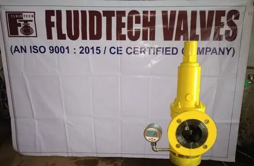 Digitalised Pressure Relief Valves