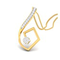 Designed Diamond Gold Pendents