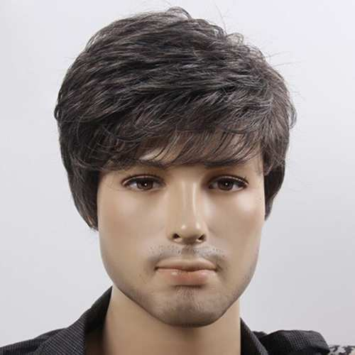 pictures of mens wigs
