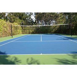 Unique Acrylic Volleyball Court Flooring Service