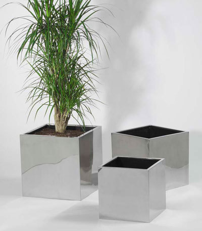 Stainless Steel Planter Pots And Stainless Steel Flower Pot Exporter
