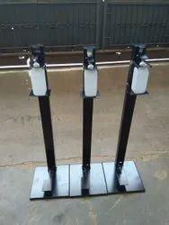 Mild Steel Foot Operated Sanitizer Dispenser