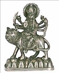 Goddess Durga God Idol Panchdhatu By JY5