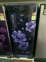 Blue Whirlpool Refrigerator, Capacity: 200 Liters