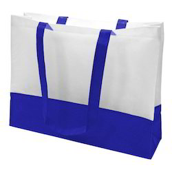 Raj Blue and Multicolor Non Woven Shopping Bag, Capacity: 500gm and 5kg