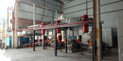 Ammonia Cold Storage System