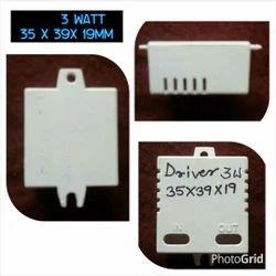 LED Driver 3 Watt Square White Housing