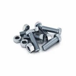 Chrome Finish Mild Steel Bolt Nut, Hex, Size: 2 Inch To 6 Inch