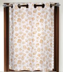 Marine Print Eyelet Curtains, For Door, Size: 140x200 Cms