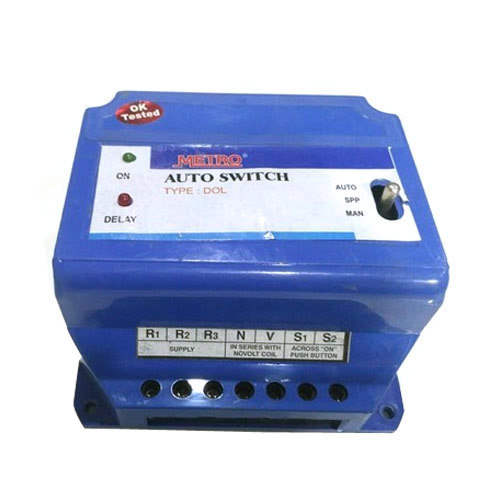 Electric Auto Switch Mini Auto Switch Manufacturer From Ahmedabad
