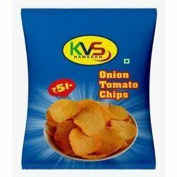 KVS Namkeen Onion Tomato Chips, Packaging Size: 18 Gram