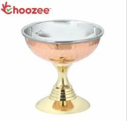 Choozee - Copper/Brass/Stainless Steel Ice Cream Cup