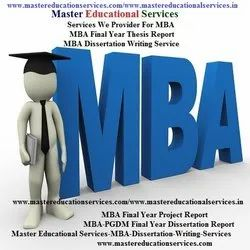 IGNOU MBA Dissertation Report Writing Services