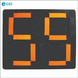 Acrylic SAS Football Substitution Board - Club, Shape: Rectangle