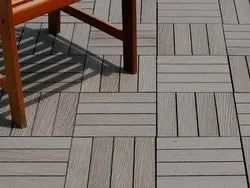 Composite Wood Deck Tiles