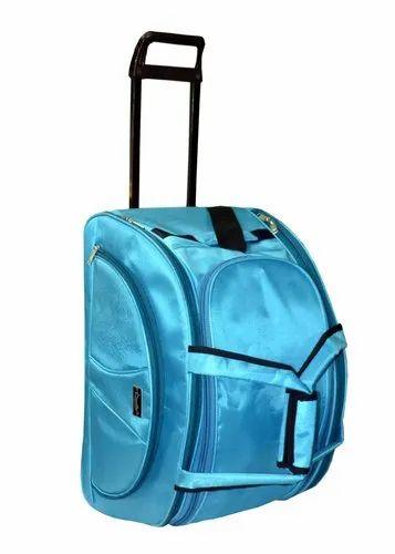 804f6cfe0 Polyester Maroon Sanstar 22 Inch Duffel Strolley, Rs 750 /piece | ID ...