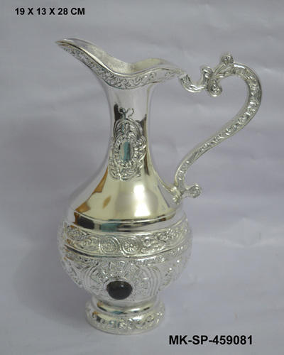 Antique Style Silver Plated Jug