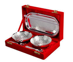 Designer Silver Plated Bowl Set