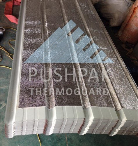 Insulated Profile Sheet, Thickness: 6mm