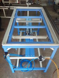 Blue Screen Stretching Machine-Pneumatic Lifting