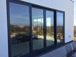 Aluminium,Glass Partition Doors Aluminium Sliding Door, For Hotel. Office,Home etc